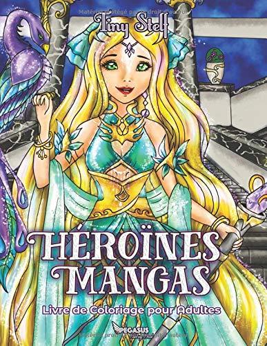 Coloriage Cars Flo.Livre De Coloriage Pour Adultes Heroines Mangas French