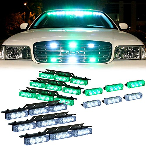 Green And White Led Emergency Lights in US - 9