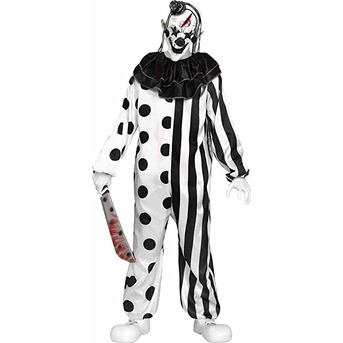 Fun World Teenager\u0027s Killer Clown Costume