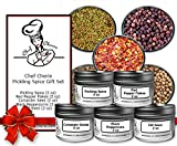 Chef Cherie's Pickling Spice Gift Set - Contains 5 x 2 oz. Jars