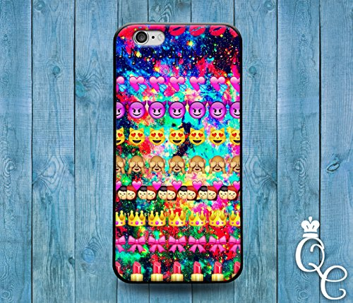 Price comparison product image *BoutiqueHouse* iPhone 4 4s 5 5s 5c SE 6 6s plus iPod Touch 4th 5th 6th Generation Amazing Custom Emoji Collage Case Cute Funny Girl Boy Galaxy Space Cover(Samsung Galaxy S5)