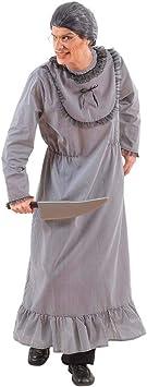 Disfraz De Abuela Psicópata para Hombre M: Amazon.es: Juguetes ...