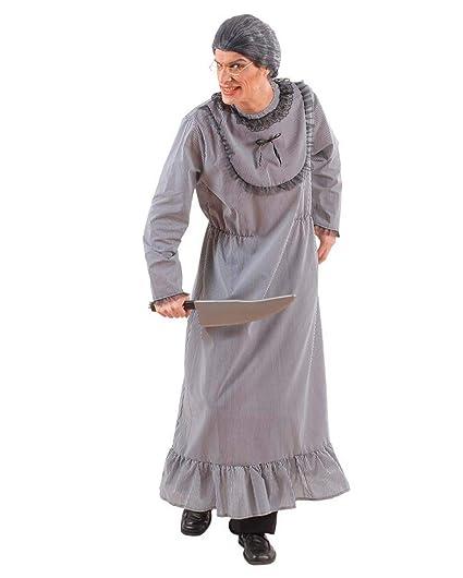 Disfraz De Abuela Psicópata para Hombre M: Amazon.es: Juguetes y ...