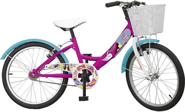 Bicicleta oficial Soy Luna 20 pulgadas Disney niña chica: Amazon ...