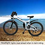 E-Bike-Bici-Pieghevole-Mountain-Bike-Bici-Elettrica-con-Cambio-Shimano-21-velocita-250W-8AH-Batteria-agli-ioni-di-Litio-36V-26-Bici-City-Bike