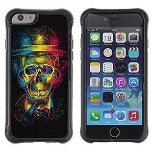 "Hypernova Defender Series TPU protection Cas Case Coque pour Apple Iphone 6 [Diseño Cráneo 3D""]"