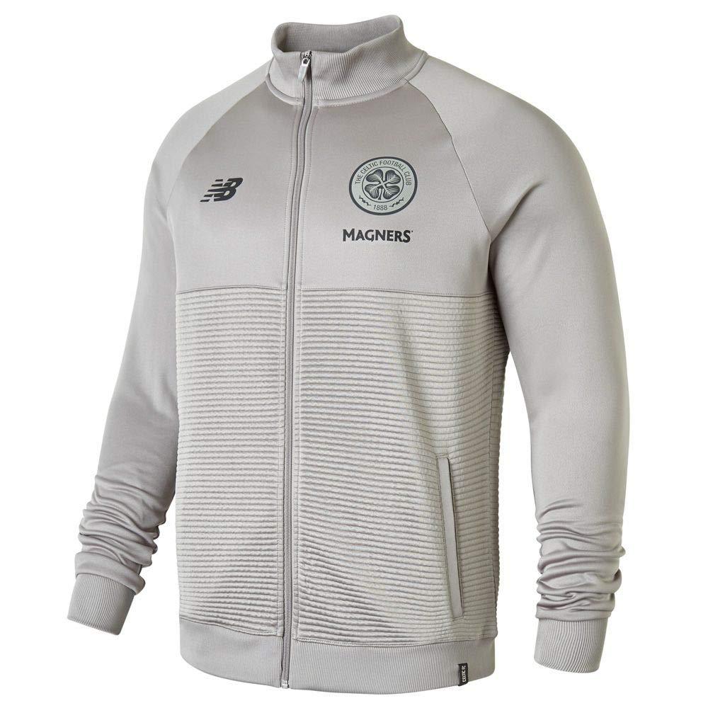 New Balance 2018-2019 Celtic Training Walkout Jacket (Grau)