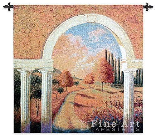 Tuscan Archway Wall Tapestry - Tuscan Archway