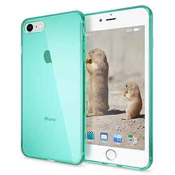 NALIA Funda Compatible con iPhone 8/7, Ultra-Fina Protectora Movil Carcasa Transparente Silicona Gel Bumper Estuche, Goma Cubierta Delgado Clear ...