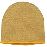 Polarn O. Pyret FINE Stripe ECO Beanie (9-12YRS) - Sunflower/9-12 Years