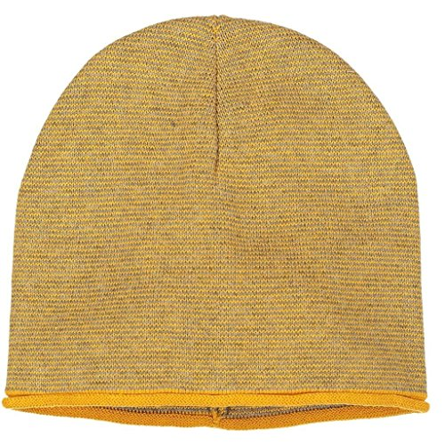 Polarn O. Pyret FINE Stripe ECO Beanie (9-12YRS) - Sunflower/9-12 Years by Polarn O. Pyret (Image #7)