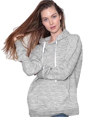 090c8ba36fa9 U.S. Apparel Woman s Classic Fleece Hoodie at Amazon Women s ...