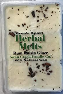 product image for Swan Creek Drizzle Melts - Rum Raisin Glaze