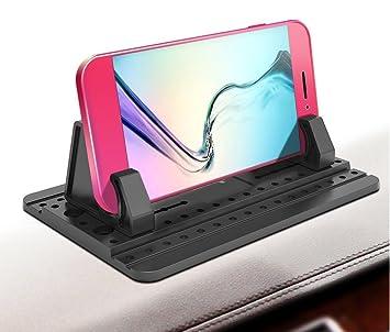 Mfiiden Pad de voiture avec gel gluant points 3ème génération universel  Tapis en silicone pour différents c16a075edfd3