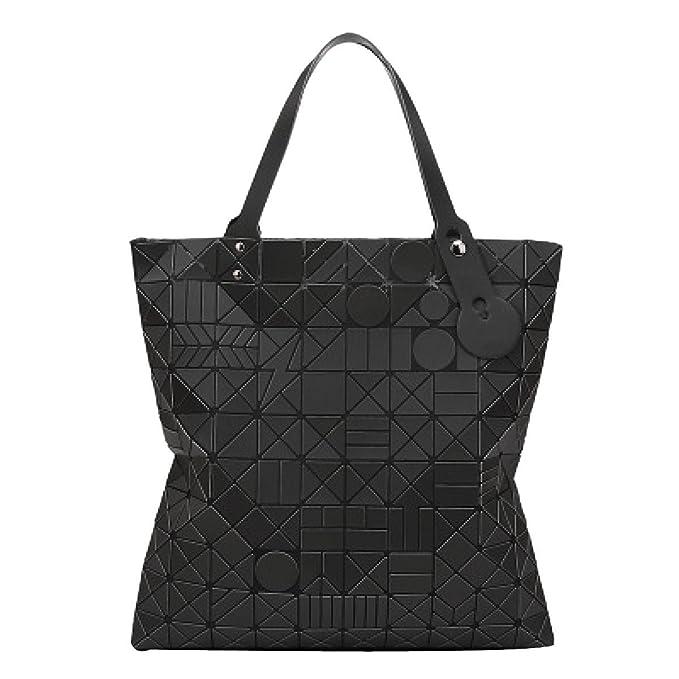 ADEMI Para Mujer Bolsas De Mano PU cuero Geométrico Diamante Bolsa De Hombro Bolso De La Manija: Amazon.es: Ropa y accesorios