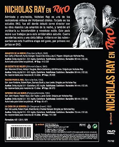 Pack Nicholas Ray En RKO [DVD]: Amazon.es: Cathy ODonnell, Maureen OHara, Joan Fontaine, John Wayne, Ida Lupino, Nicholas Ray, Cathy ODonnell, Maureen OHara, RKO Pictures: Cine y Series TV