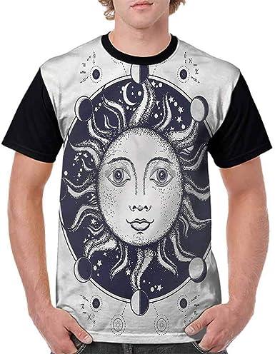 BlountDecor Fashion T-Shirt,Geometric Feminine Fashion Personality Customization