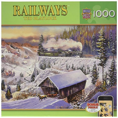 Run 1,000 Piece Puzzle (Masterpieces Wabash Cannonball Run Railways Jigsaw Puzzle)