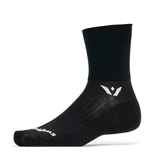 6a1ee45a7d Swiftwick- ASPIRE FOUR | Socks Built for Trail Running and Cycling | Fast  Drying,