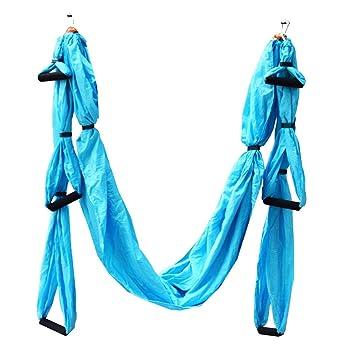 Yoga Swing trapecio volador tela de paracaídas hamaca ...