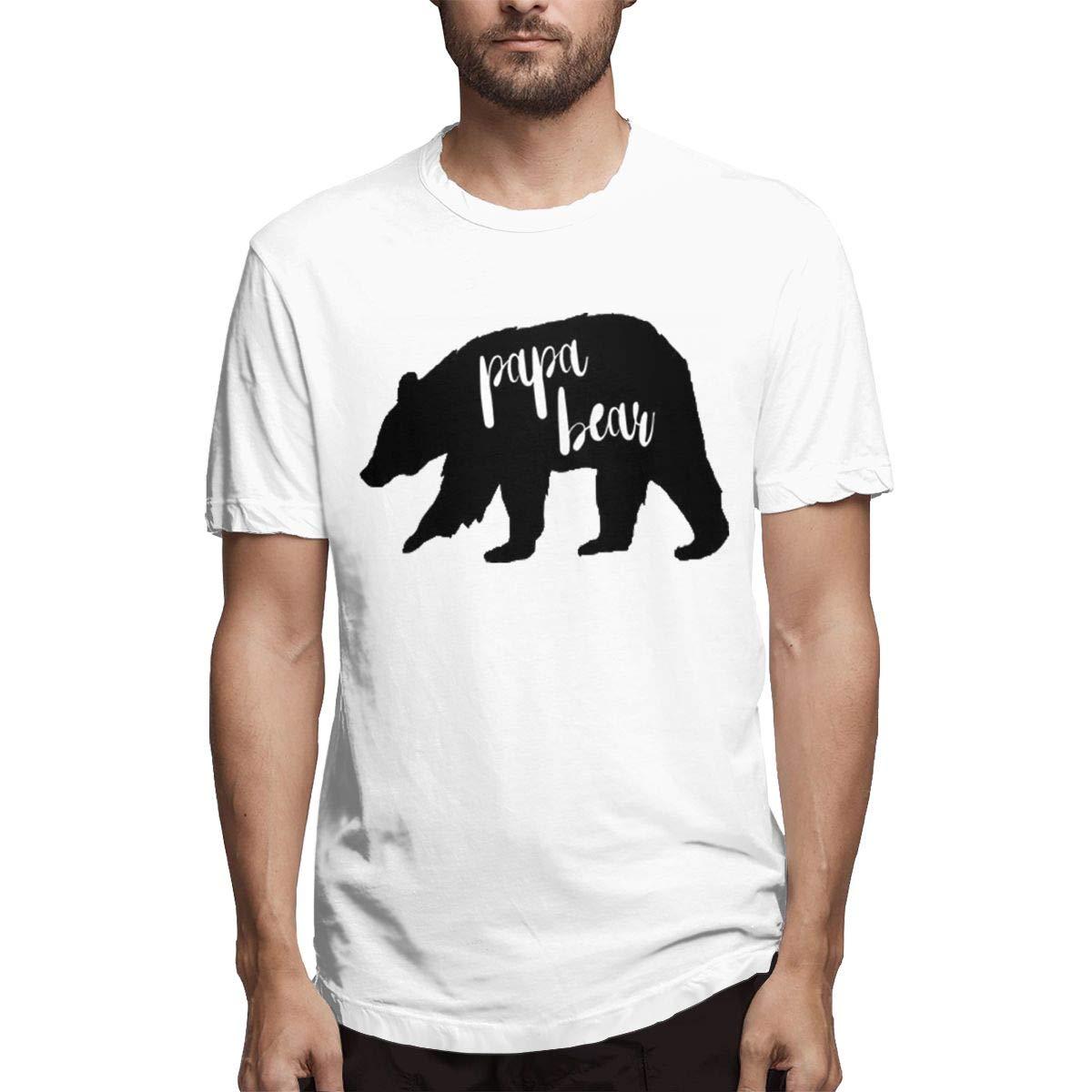 Marsherun S Papa Bear Short Sleeve T Shirts