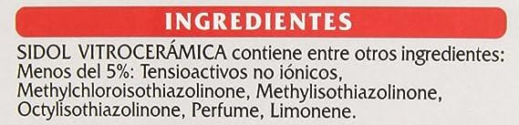Sidol Vitrocerámicas Crema 450 ml