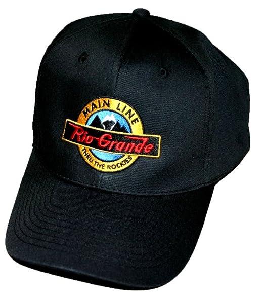 e3173074c Amazon.com: Denver and Rio Grande Main Line Embroidered Hat [hat12 ...