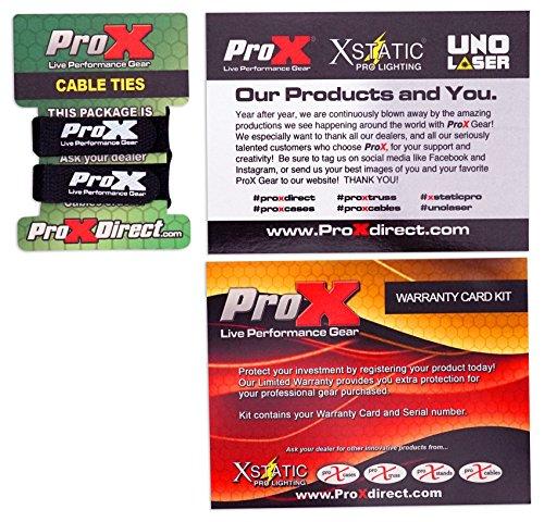 ProX X-MXTPRO3LTBL Black Travel Flight Case For Mixtrack Pro 3 w/ Laptop Shelf by Pro-X (Image #7)
