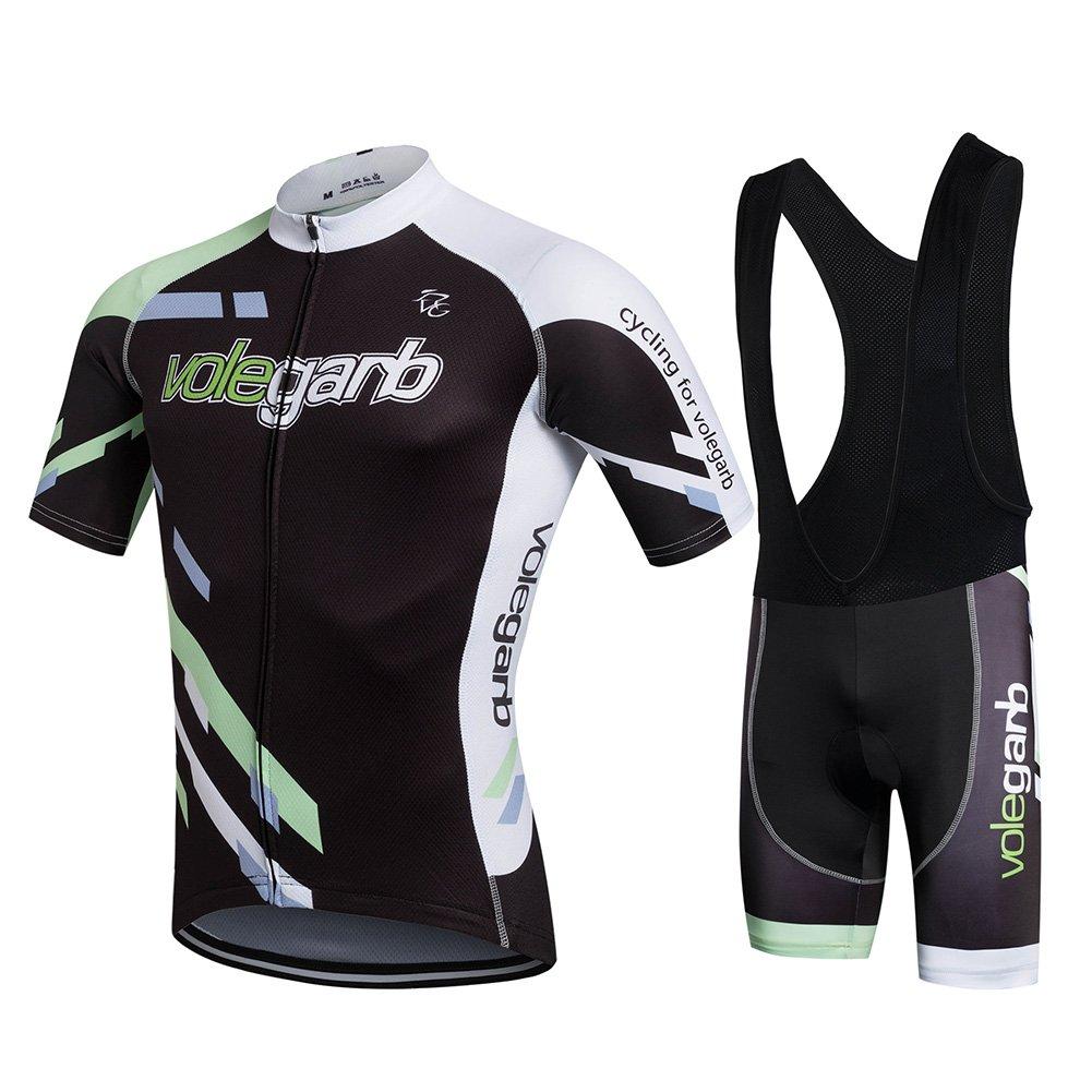 Fastar Ropa Verano Conjunta de Ciclismo de Hombre - Ciclismo Maillot Jersey y Pantalones Cortos Fastar-deporte