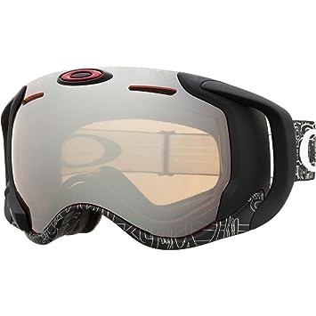 33d776c390 Oakley Airwave 1.5 Mens Asian Fit Goggles - Silvertext16 Black Iridium  Apple One Size