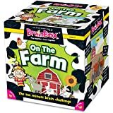 Green Board Games 90047 BrainBox On The Farm
