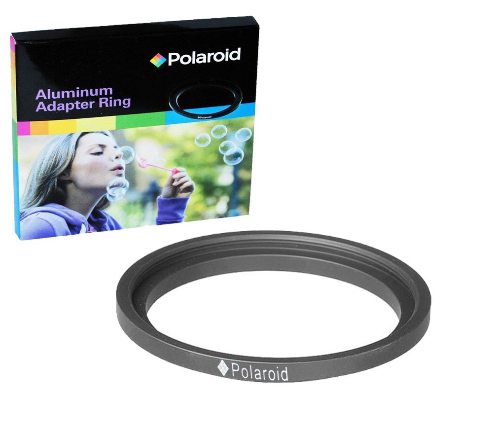 Polaroid Step-Down Aluminum Adapter Ring 67mm Lens To 58mm Filter Size PLSDR6758