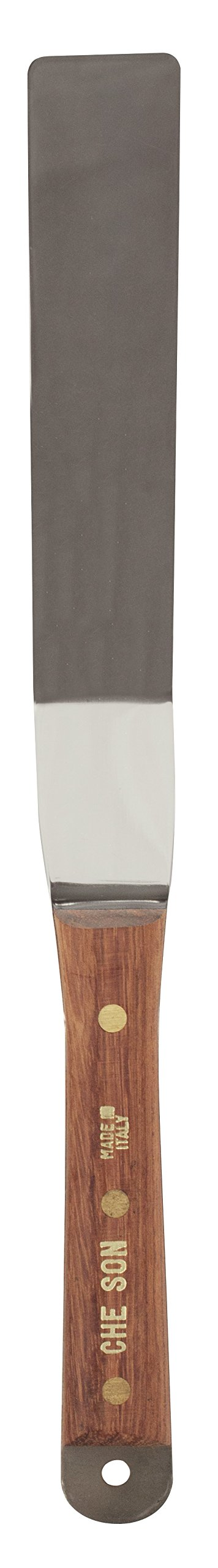 Jack Richeson 800895 6-7/8'' x 1-1/4'' Stainless Steel Spatula by Jack Richeson