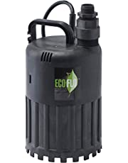ECO-FLO Products SUP80 Manual Submersible Utility Pump, 1/2 HP, 3,180 GPH