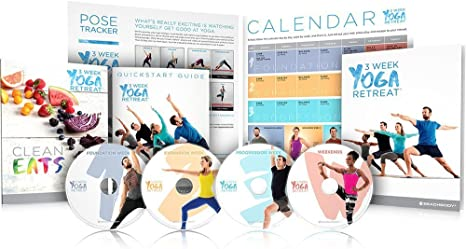 Beachbody 3 Semana Yoga Retreat Programa Incluye 21 Clases de ...