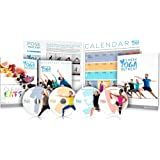 Beachbody 3 Week Yoga Retreat Programme including 21 classes under 30 minutes. Now with nutrition guide and class calendar