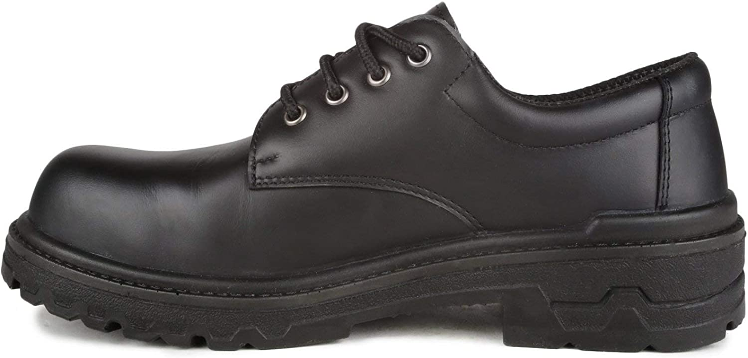 Protector Sizing from 3-17 /& 8/½ Anti-Odours Treatment CSA /& ESR Full-Grain Leather Work Shoes   Black 10/½ A9052-11 CSA /& ESR Certified Acton