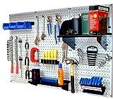 Wall Control 30-WRK-400WB Standard Workbench Metal Pegboard Tool Organizer