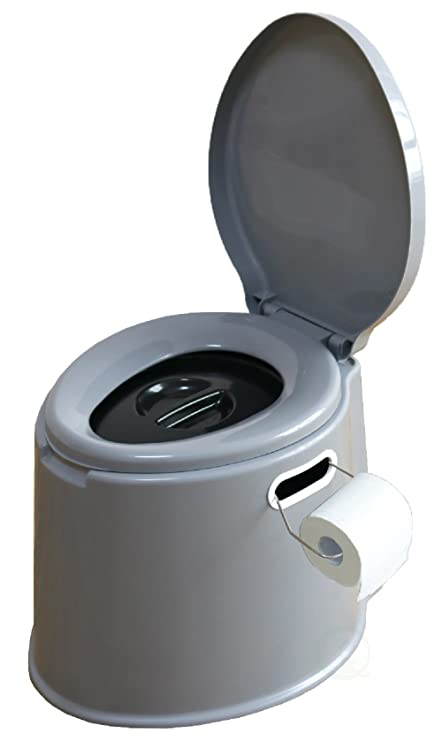 Amazon.com : Portable Travel Toilet For Camping and Hiking : Sports ...