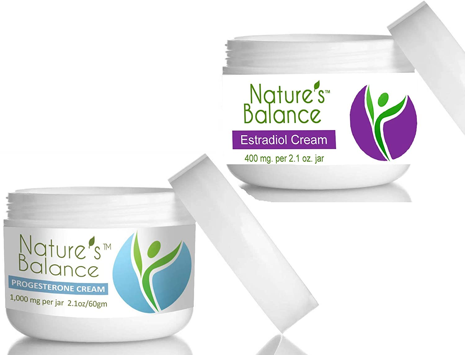 Bio-Identical Estradiol and Progesterone Cream  Fragrance Free  Free from  Toxic, Cancer Causing
