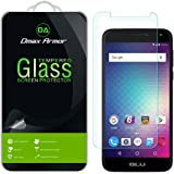 [3-Pack] Dmax Armor- BLU Life Max [Tempered Glass] Screen Protector with Lifetime Replacement Warranty