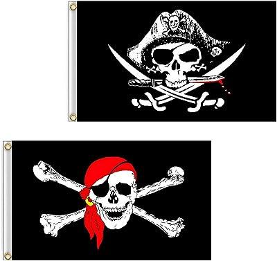 drapeau tête de mort 6