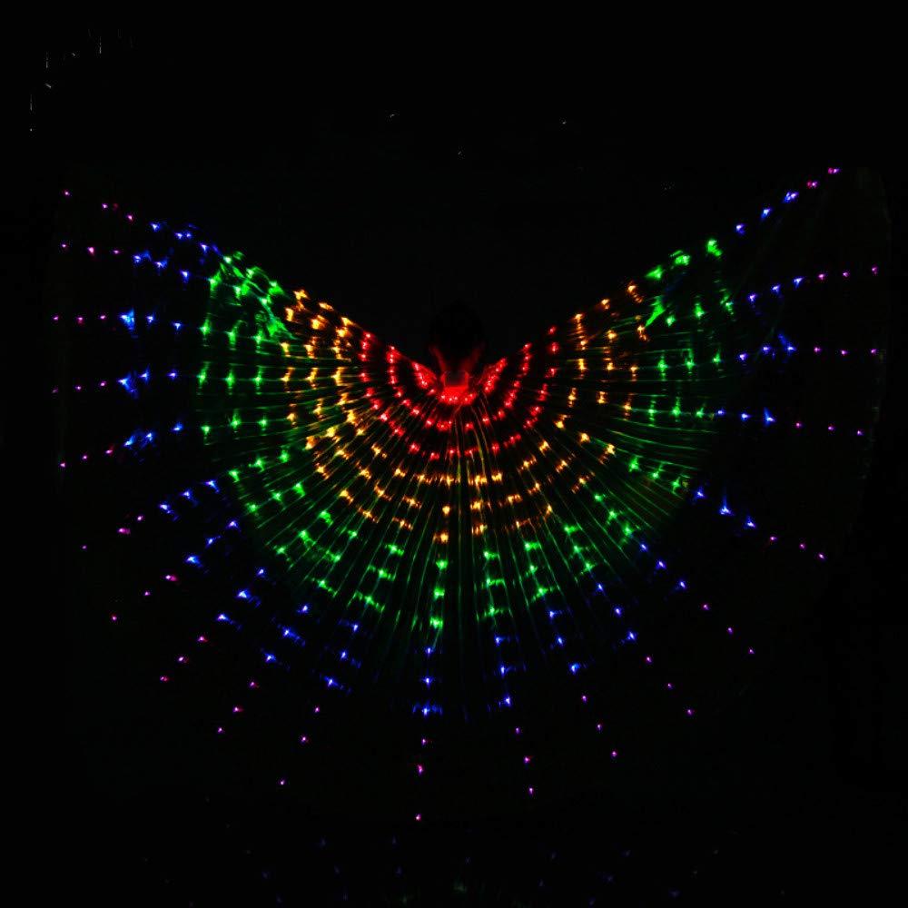 殿堂 ベリーダンス B07PMHPJHG LED ベリーダンス 輝く翼イシス翼女性のパフォーマンスポリエステルチューブ翼ダンスアクセサリー B07PMHPJHG Rainbowcolor Rainbowcolor, 段ボール梱包資材店 In The Box:1ba39ead --- a0267596.xsph.ru