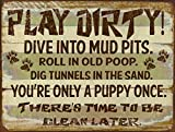 Best Play Set With Chalkboard Irons - Funny Dog Signs ~ Play Dirty! Dive Into Review