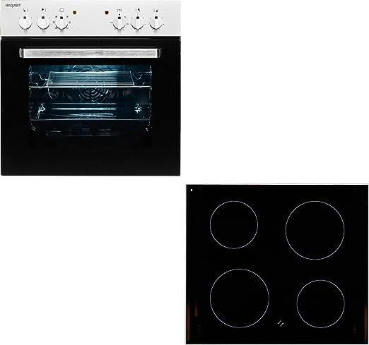 Exquisit Juego de Instalación de horno EHE 55U eb-set + ...