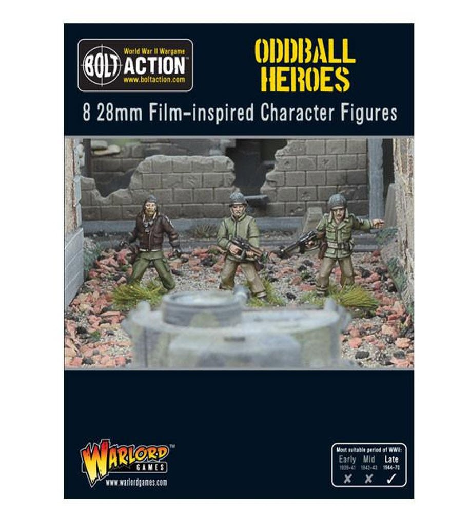 9c439479a50ca Amazon.com  Bolt Action  Oddball Heroes  Toys   Games