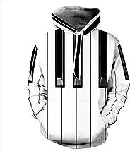 IYOWEL 3D Printing Hoodies Women and Men Sweatshirts Long Sleeve Sweater