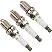 Harbot (Pack of 3 491055 Spark Plug for Briggs & Stratton 491055S 491055T 805015 72347 Champion RC12YC John Deere M78543 Kohler 25 132 12-S 12 132 02-S