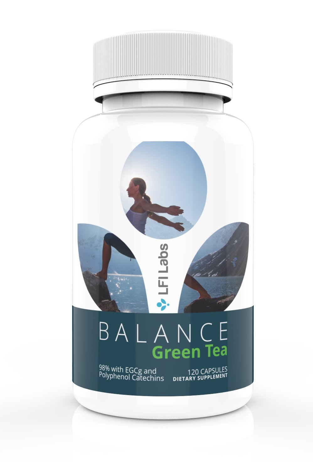 Natural Green Tea Extract Capsules – Polyphenol & Antioxidant Rich for Weight Loss, Appetite Suppressant, & Fat Burner - Metabolism Booster/ Herbal Immune System Booster - GMO Free 120 Pills 500mg