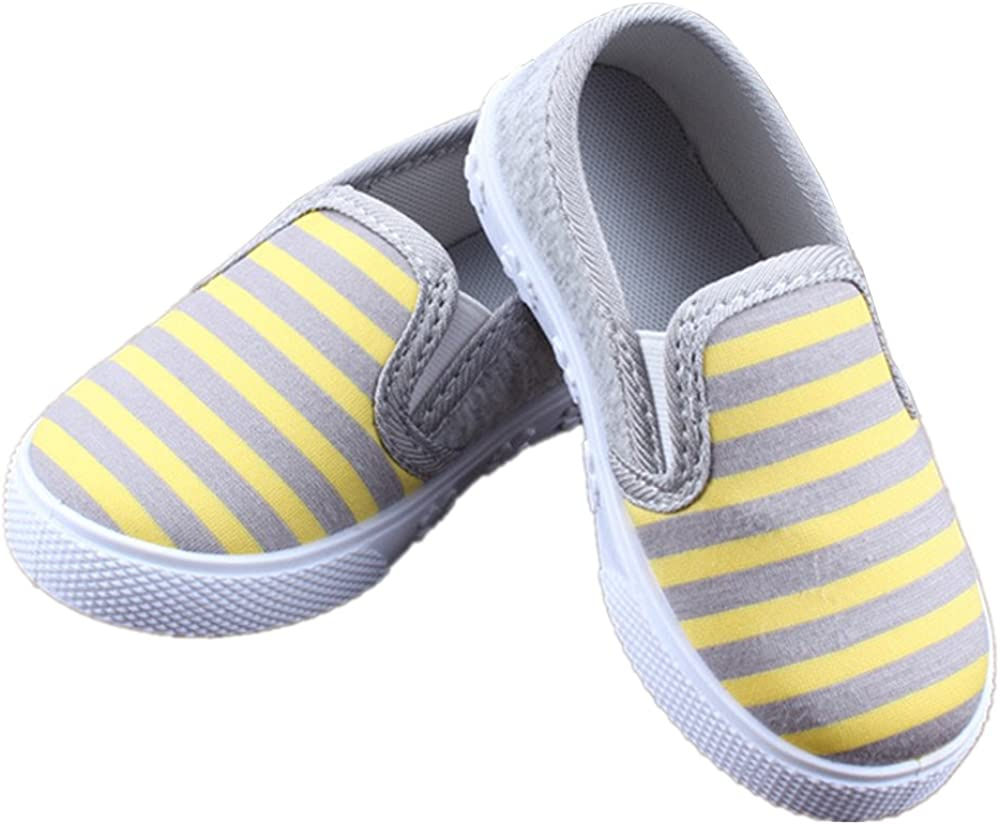Size 9 Toddler RVROVIC Kids Boys Girls Light Weight Slip-On Loafers Toddler Casual Walking Sneakers Size 6.5